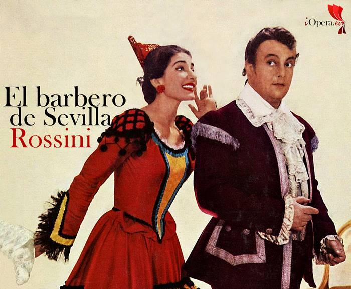 Il barbiere di Siviglia El barbero de Sevilla de Gioachino Rossini María Callas Gobbi Alva
