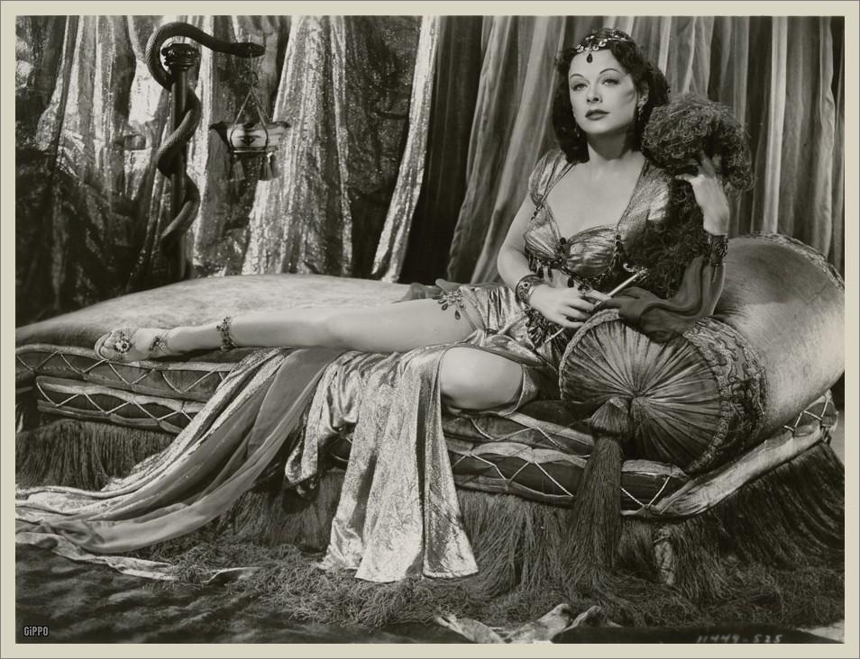 Hedy Lamarr como Dalila en la película de Cecil B. DeMille de 1949