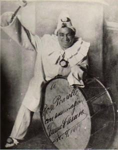 Foto de Caruso dedicada a Rosa Ponselle