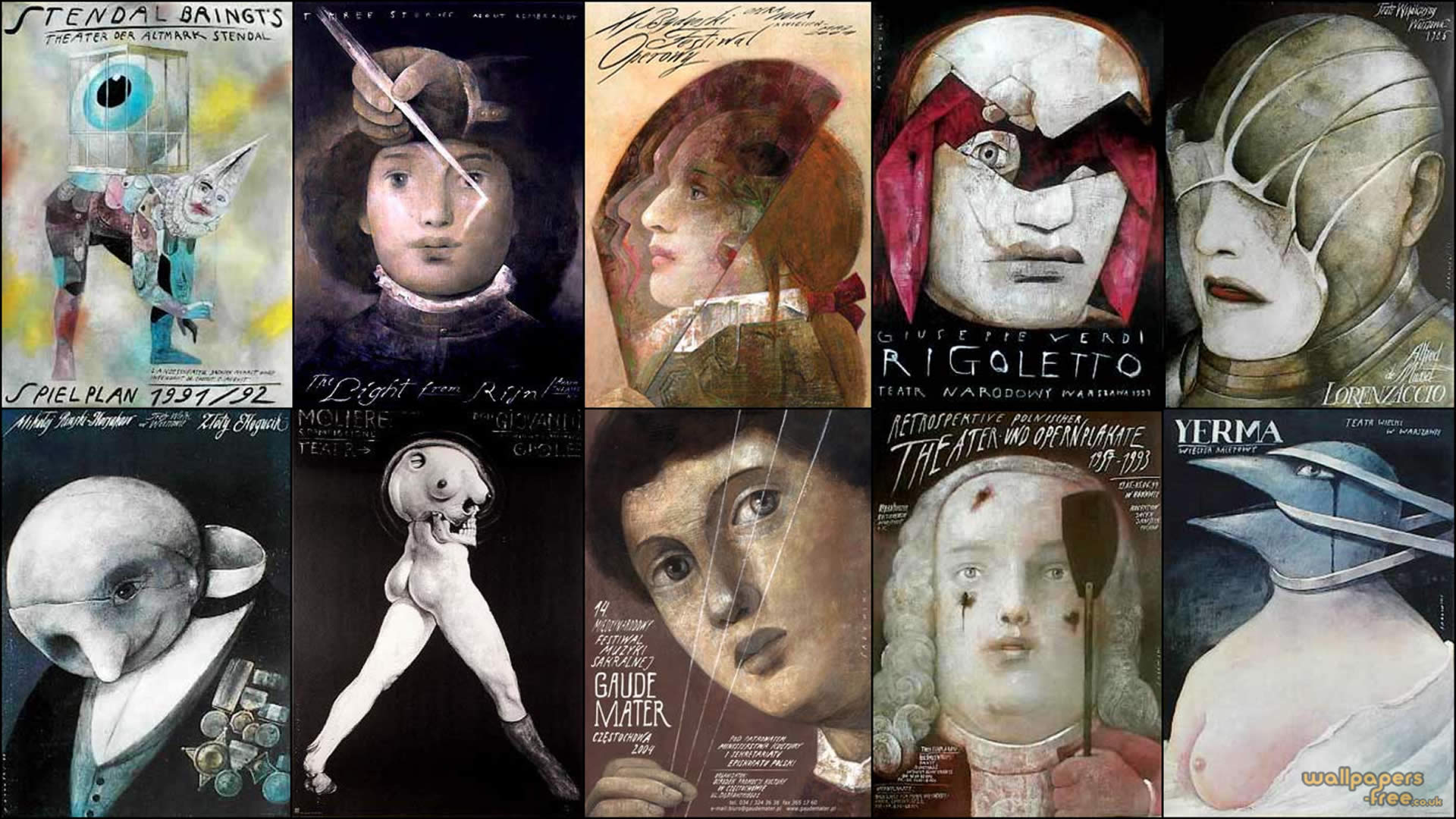 wiktor-sadowski-opera-collage
