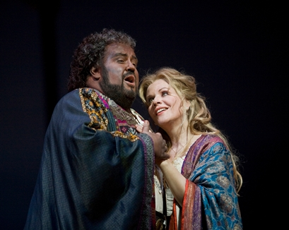 Otello en el Met. Botha y Fleming