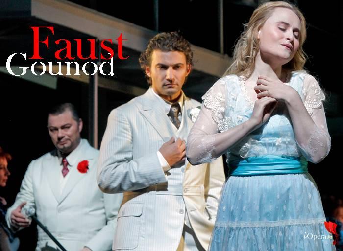 palco en Faust jonas kaufmann rene pape