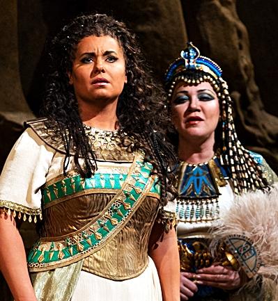 Monastyrska y Borodina en Aida