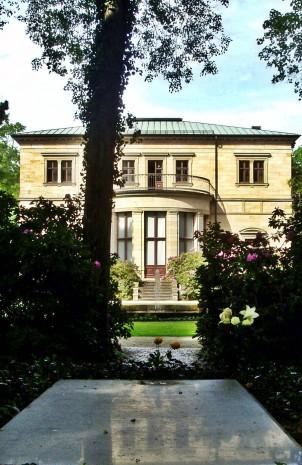 Tumba de Richard Wagner en la Villa Wahnfried en Bayreuth