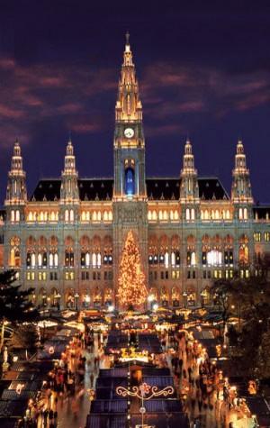 Mercado de Navidad en Viena