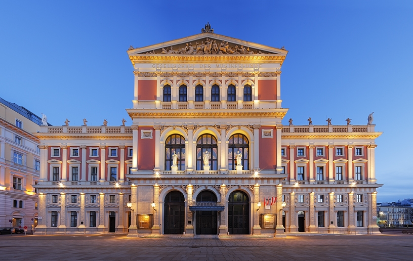Image result for musikverein de viena