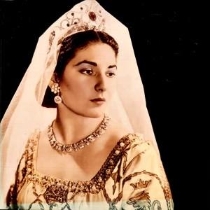 Maria Callas como Leonora