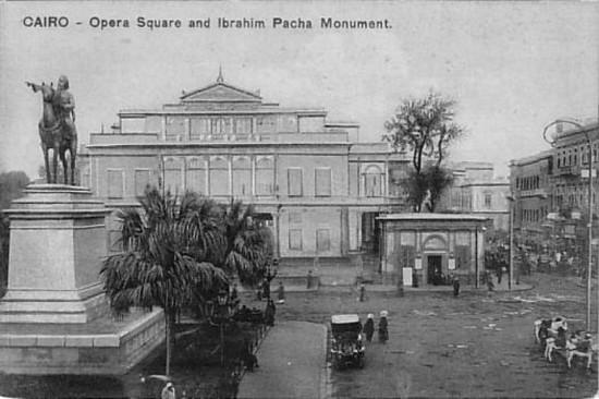 Plaza de la Opera en El Cairo