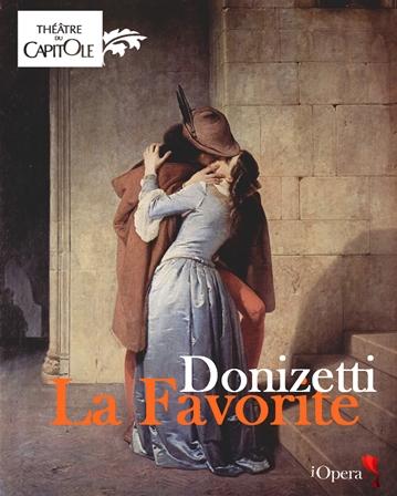 Il Bacio, Francesco Hayez La Favorite Donizetti 1