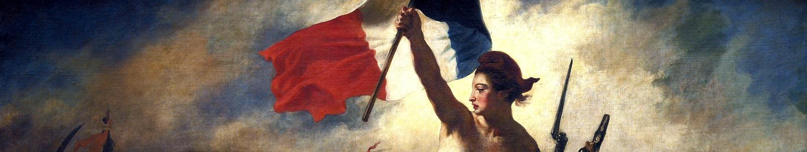 Andrea Chenier Giordano Eugène_Delacroix_-_La_liberté_guidant_le_peuple