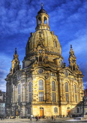 Frauenkirche en Dresde, Alemania