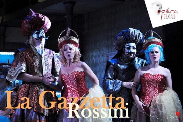 La Gazzetta Rossini vídeo Lieja iopera