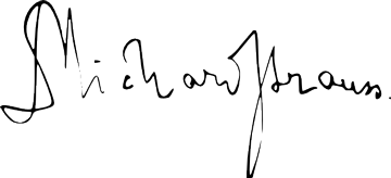 Firma de Richard Strauss