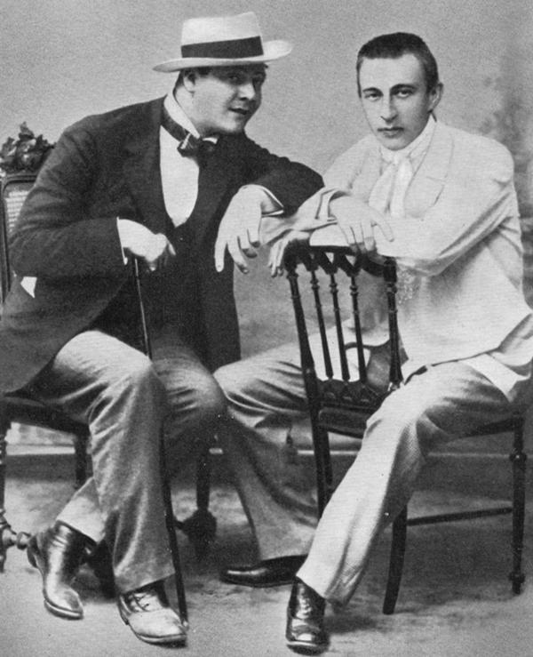 Chaliapin y Rachmaninov