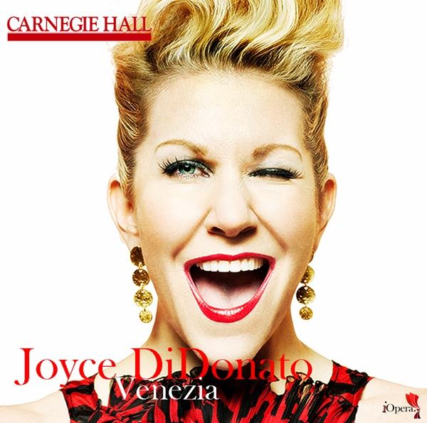 Joyce DiDonato Venezia Carnegie hall Nueva York