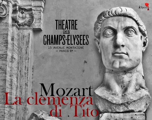 la clemenza de Tito de Mozart en Paris 2014 Champs