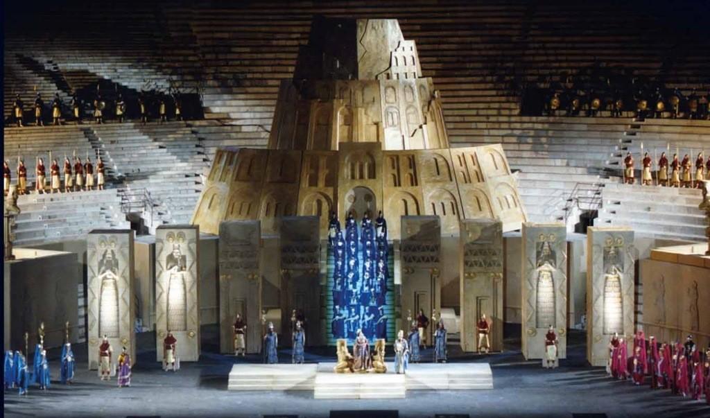 Nabucco en la Arena di Verona