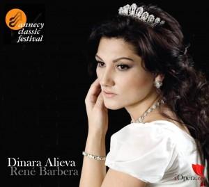 dinara alieva y René Barbera en la gala de ópera de Annecy 2015