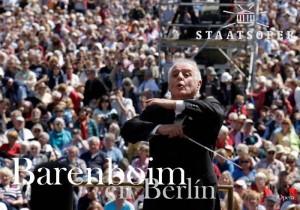 Daniel Barenboim concierto Berlín, desde la Bebelplatz berlinesa concierto al aire libre con la Staatskapelle de Berlin