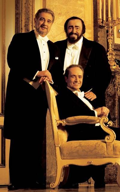 Concierto de Navidad de los tres tenores Luciano Pavarotti, Plácido Domingo y José Carreras, desde Viena