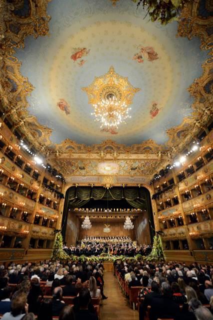 Concierto de Año nuevo 2016 en la Fenice Teatro de Venecia