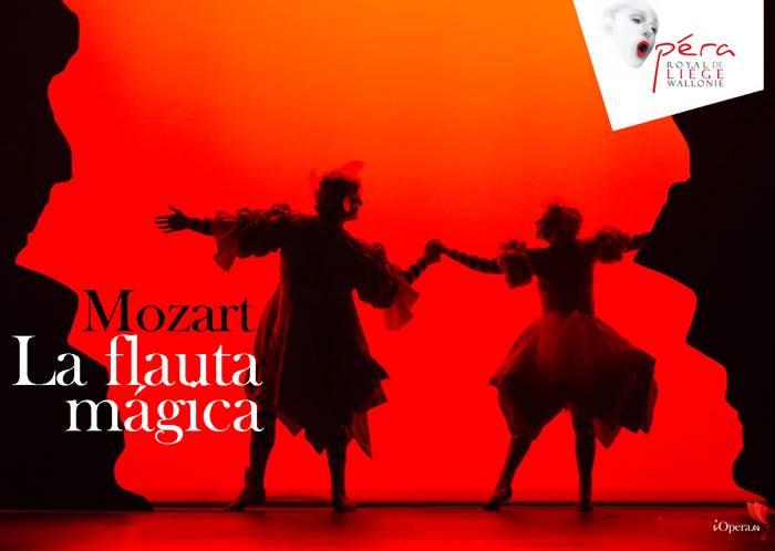 La flauta mágica desde Lieja W. A. Mozart Opéra Royal de Wallonie vídeo