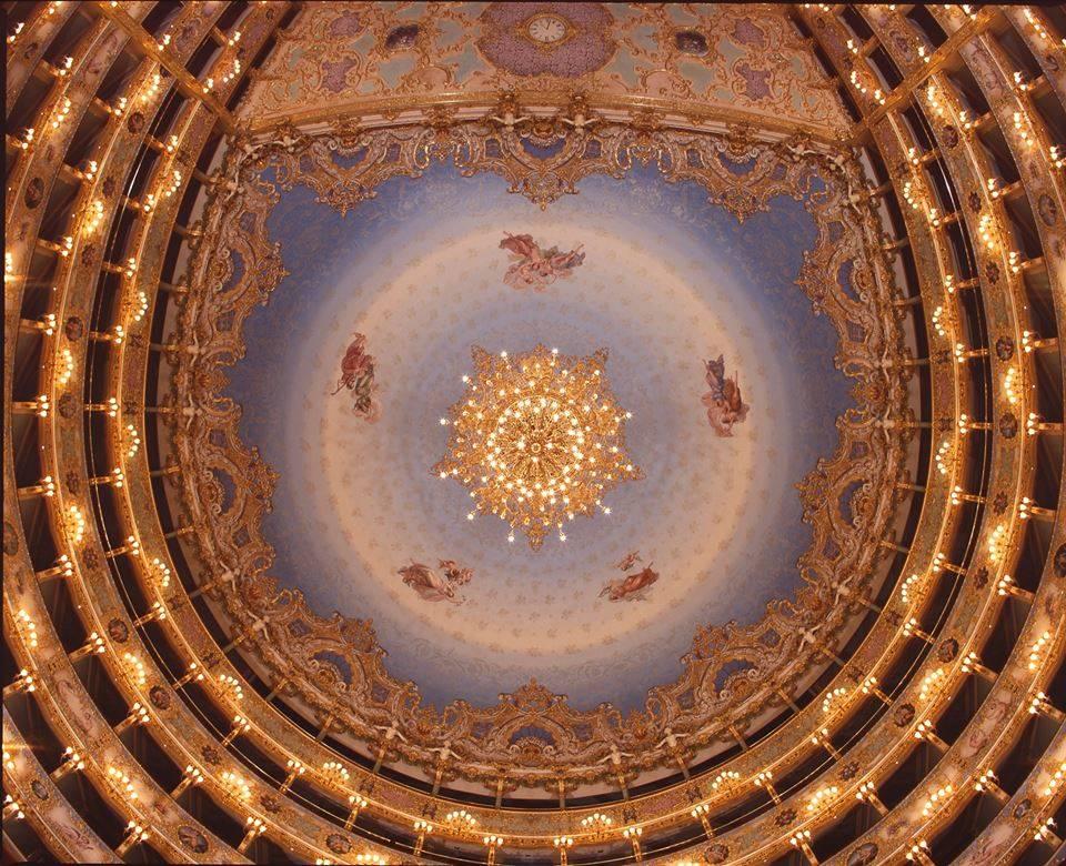 teatro la fenice de venecia techo