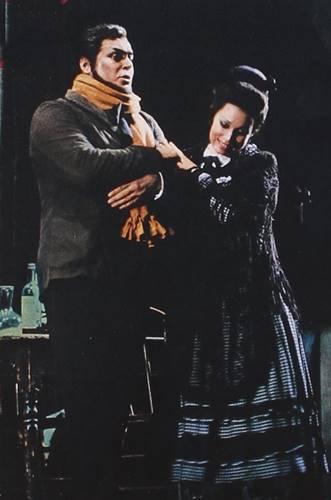 La Boheme de Puccini Pavarotti Freni