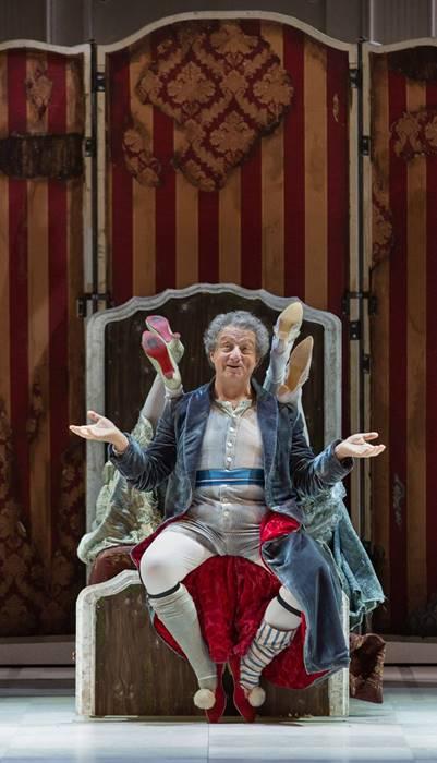 La Cenerentola en Roma de Rossini  Alessandro Corbelli como Don Magnifico