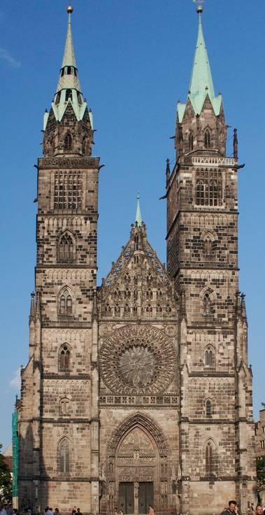 Iglesia de San Lorenzo en Nürnberg Misa en si menor de Bach en Nuremberg