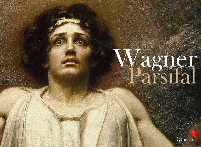 Parsifal desde Viena vídeo ópera de Richard Wagner cuadro de Rogelio de Egusquiza