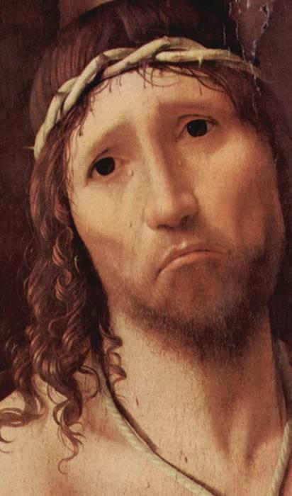 Pasión según San Marcos Bach Antonello da Messina,  Ecce homo 1473 c.