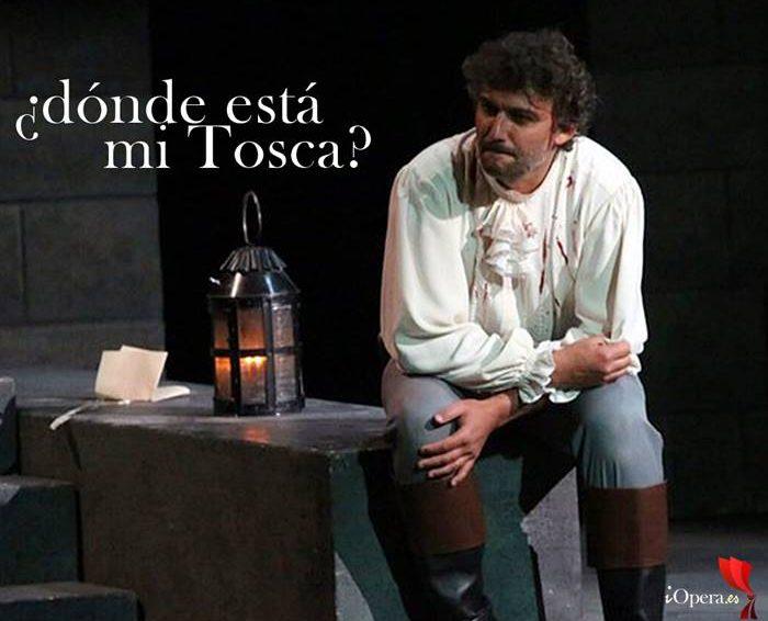 Tosca desaparece en Viena, espantada de Angela Gheorghiu frente a Jonas Kaufmann en la representación