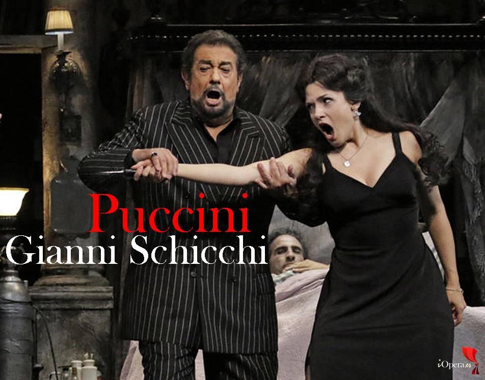 Gianni Schicchi versión Woody Allen con Plácido Domingo los angeles opera vídeo