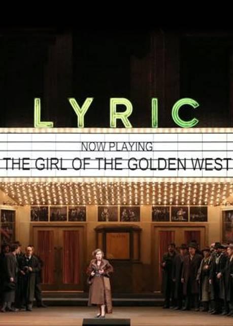 La Fanciulla  del West en la Scala Giacomo Puccini en Milán vídeo