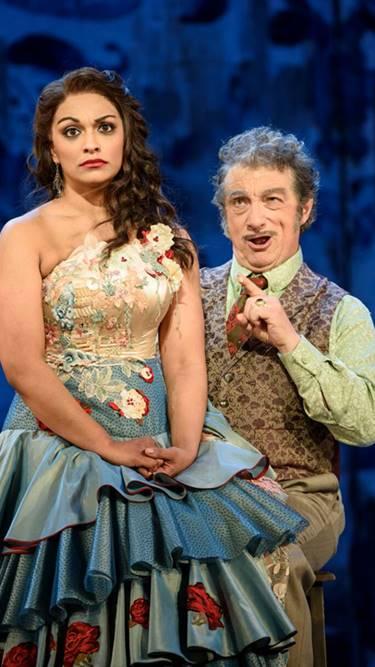 El barbero de Sevilla en Glyndebourne 2016 Festival ópera Rossini Danielle de Niese Corbelli