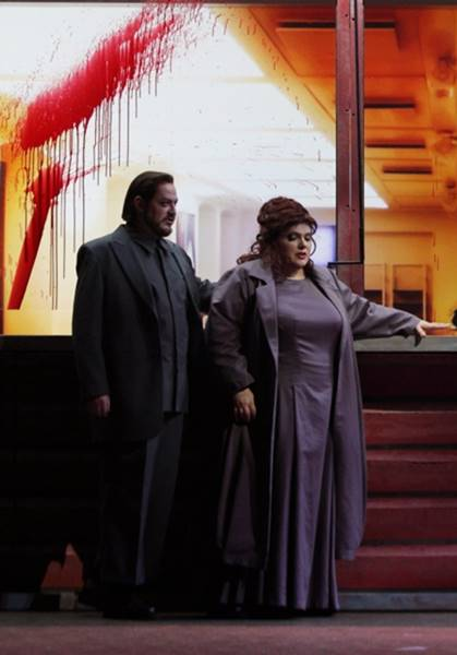 Macbeth de Verdi desde Riga ópera Shakespeare