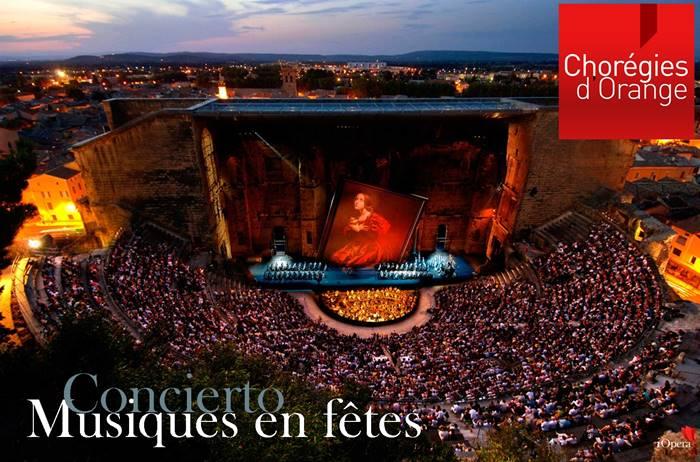 Musiques en fête 2016 en Orange concierto lírico