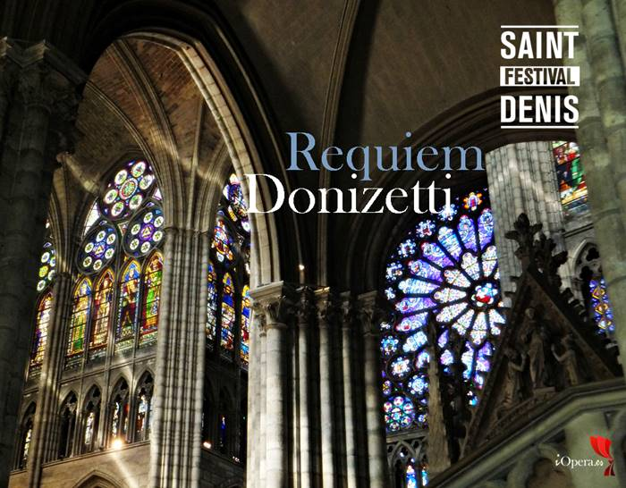 Requiem de Donizetti en saint-denis festival 2016