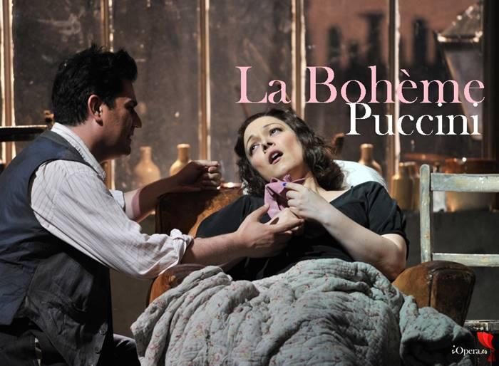 La Bohème en el Liceu, desde el Gran Teatro del Liceu de Barcelona, vídeo de la ópera de Giacomo Puccini con Eleonora Buratto y Saimir Pirgu