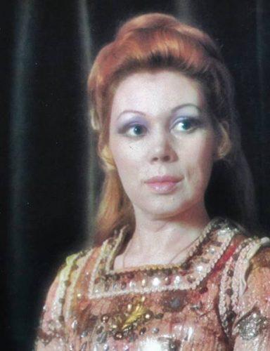 Mirella Freni como Amelia en Simon Boccanegra de Verdi