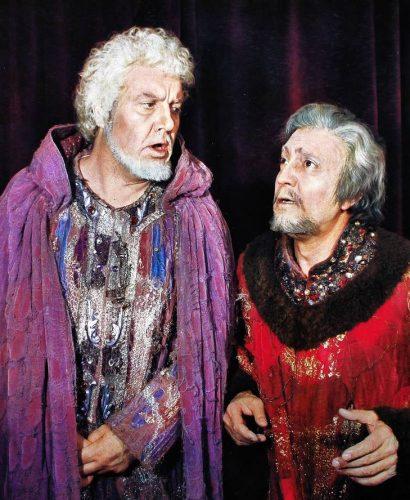 Piero Cappuccilli como Boccanegra y Nicolai Ghiaurov como Fiesco