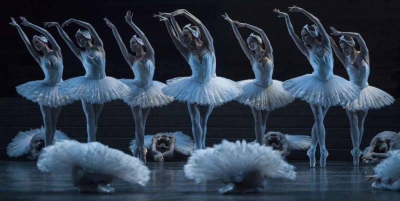 Lago de los Cisnes ballet en París