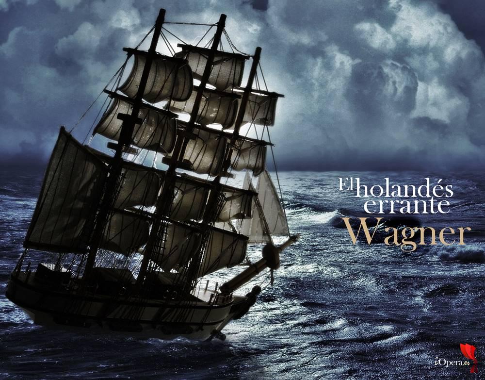 buque fantasma El holandés errante de Wagner en Helsinki finlandia richard wagner