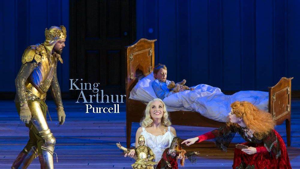 King Arthur de Purcell por René Jacobs vídeo ópera