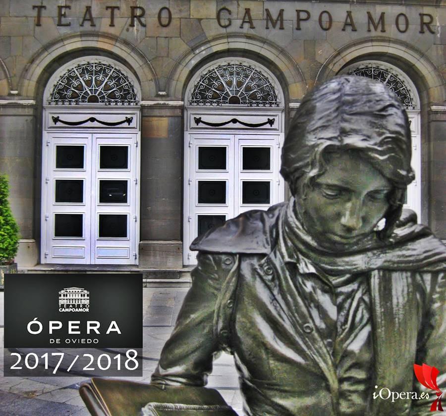 Teatro Campoamor Ópera de Oviedo temporada 2017 2018