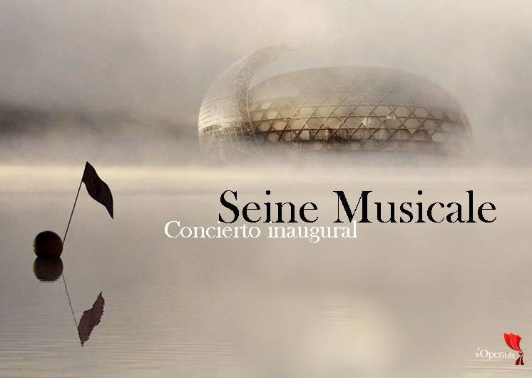 Concierto inauguración de la Seine Musicale de París vídeo del concierto insula