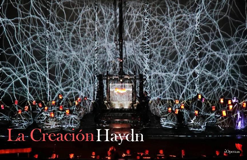 La creación de Haydn desde París por La Fura dels Baus