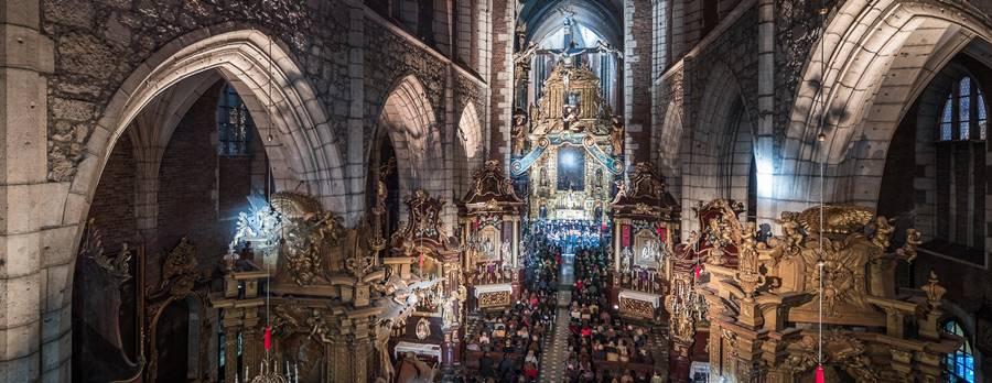 Selva morale e spirituale de Monteverdi vídeo en Iglesia de Santa Catalina de Alejandría en Cracovia