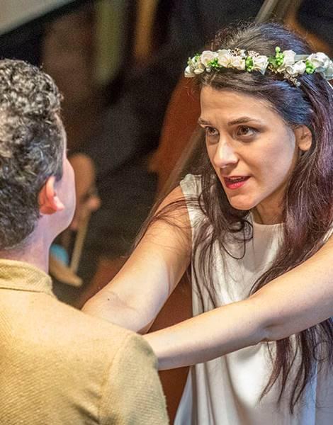Orfeo de Monteverdi por Gardiner en La Fenice Sir John Elliot vídeo ópera
